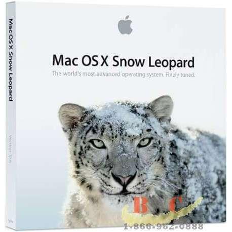 Mac OS X 10.6 Snow Leopard install